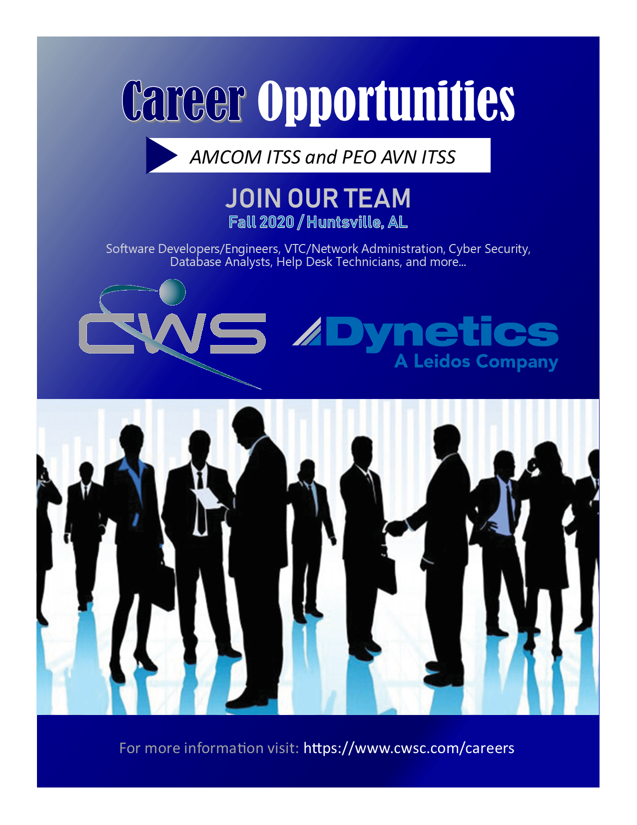 Career Opportunities - Huntsville, AL
